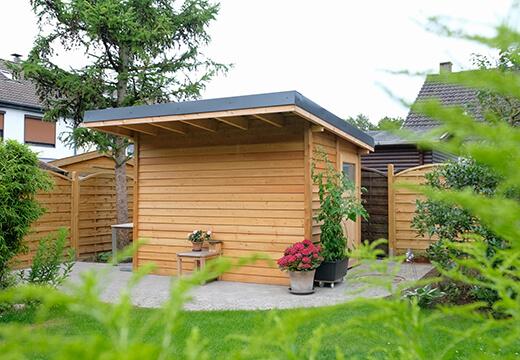 Neubau eines Gartenhauses